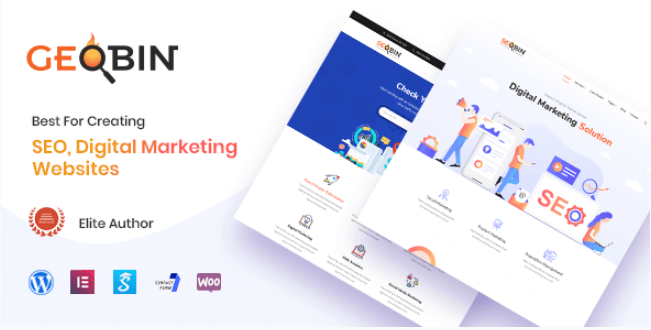 GeoBin v1 9 - A Digital Marketing Agency, SEO WordPress Theme | Get
