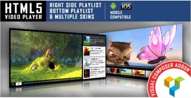 Download Free HTML5 Video Player v5 1 - A Premium WordPress