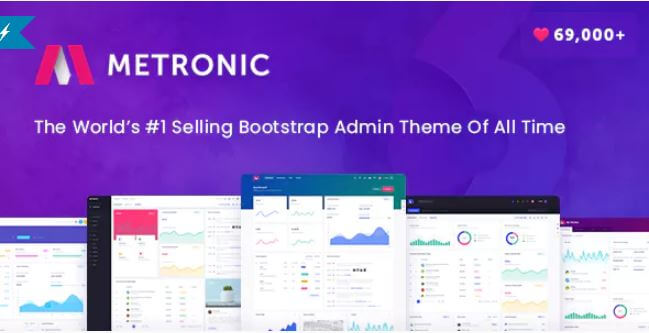 Metronic v6 0 - A Responsive Admin Dashboard Template | Get Free