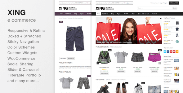 Download Free Xing v2.0.1 - Business / eCommerce
